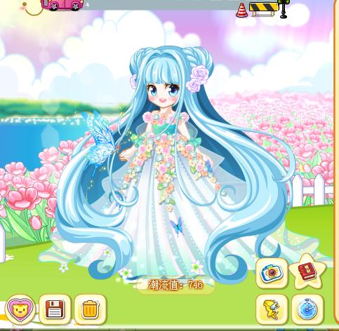 奥比岛四季公主搭配(魔力时装)