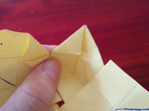 【木子】简单精美盒子折法·v