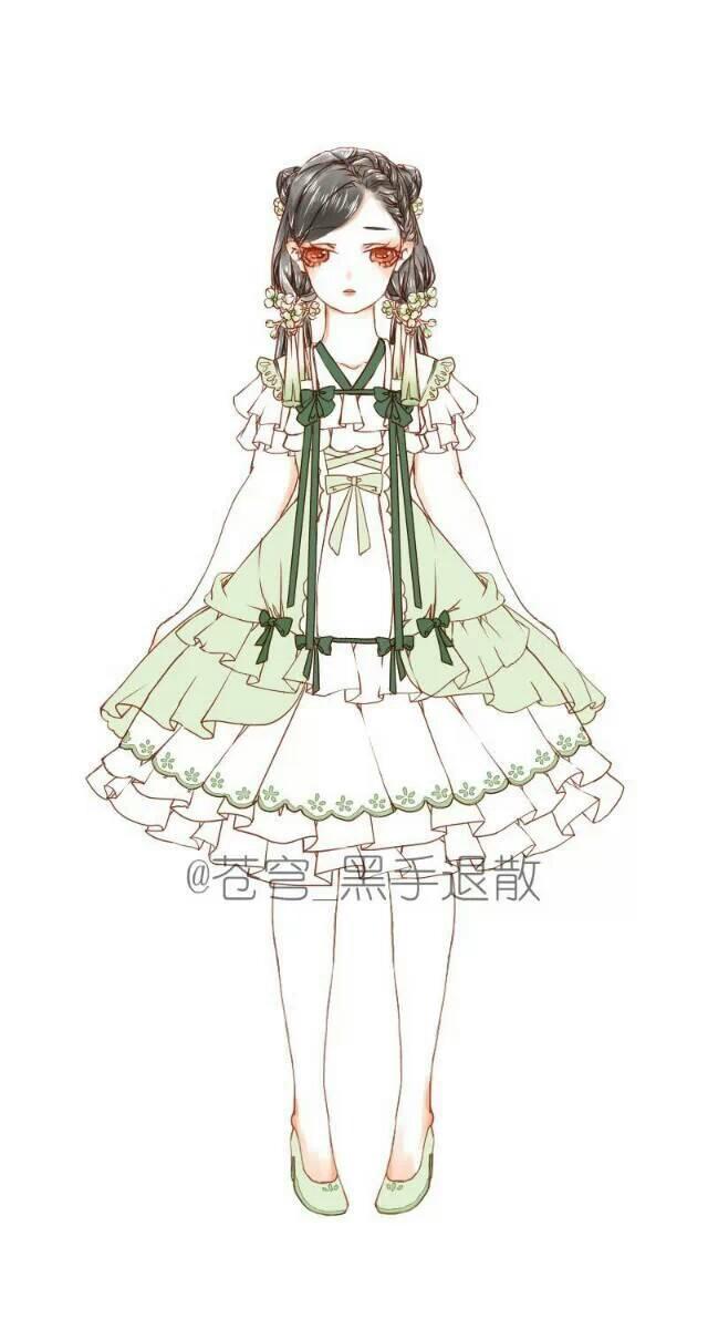 【森林少女·锦年】二次元の美腻服装图片