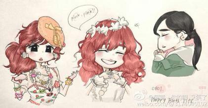 【罐装水果糖】少女时代卡通萌图