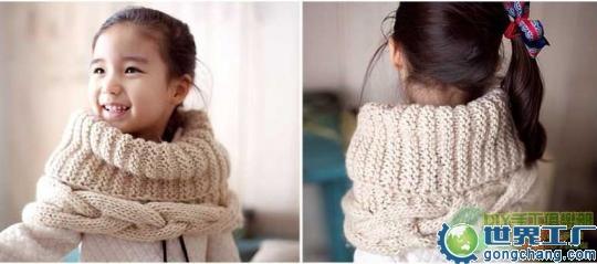 [夏冉] 手把手教你简单的围巾织法