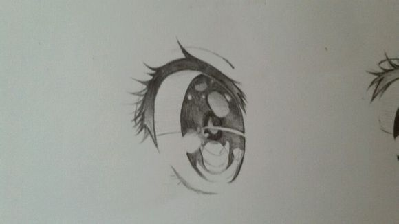 【翼蝶丨凉生】萌萌哒二次元手绘眼睛