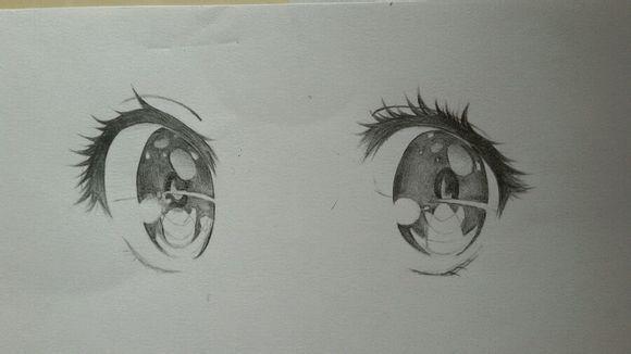 二次元手绘眼睛