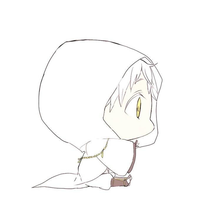 【苶子】武器娘手绘教程