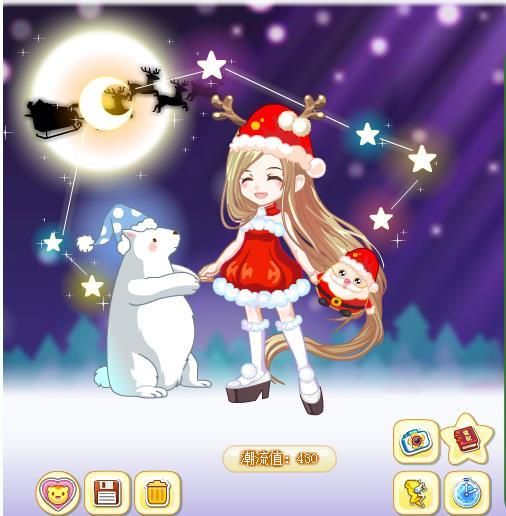 【活动】奥比圣诞欢乐秀由你搭_百田奥比岛圈