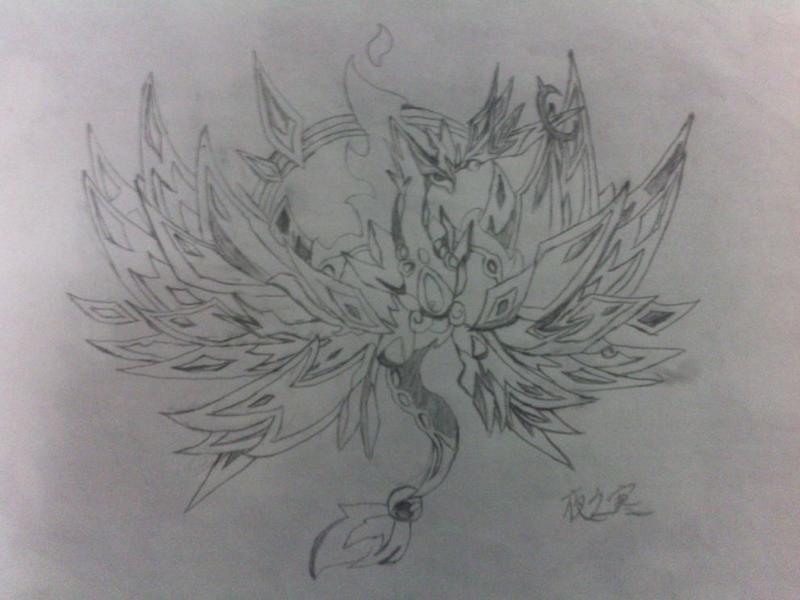 心月狐手绘图片