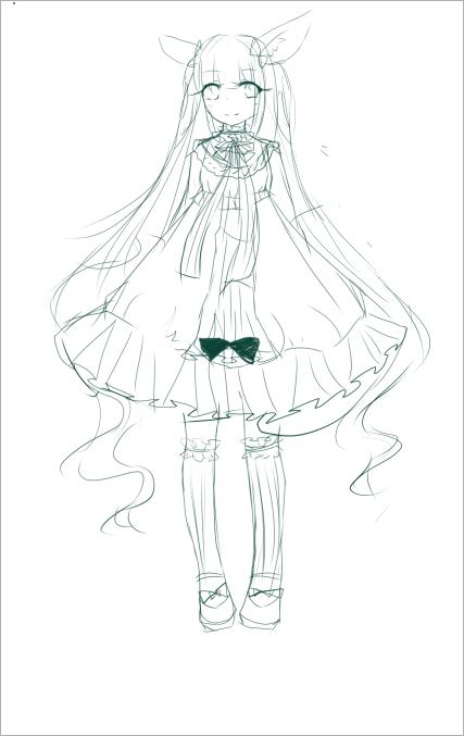 画-简笔画人物公主步骤-婚纱可爱小公主简笔画-简笔画裙子婚纱大全