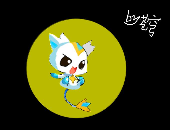 【枠】手绘萌萌的狐耳娘-雪莉