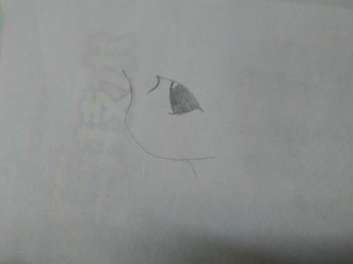 古风手绘图片铅笔画一笔一画教