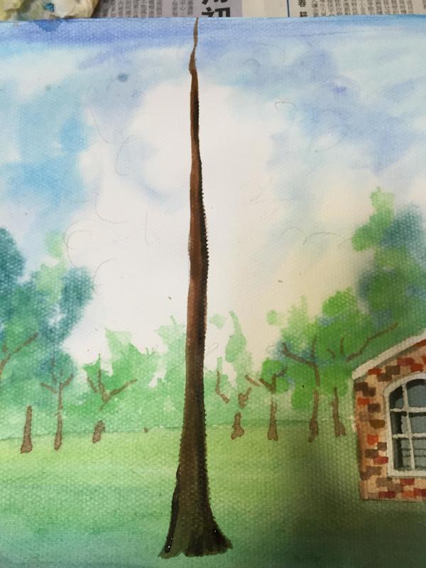 【沧溟|卡罗】一个渣的风景画水彩教程