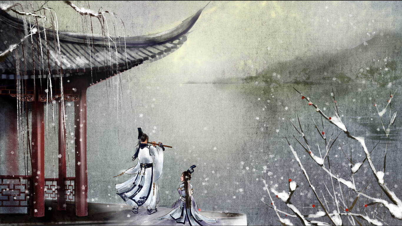 高清古风绘画集子图片