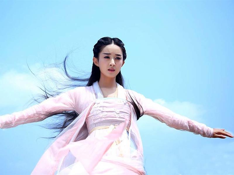『林慕雪』丹唇未起笑先闻_百田赵丽颖圈图片