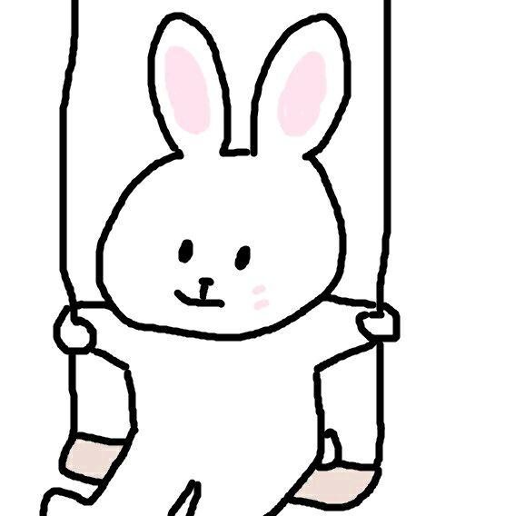 小兔头像简笔画步骤图