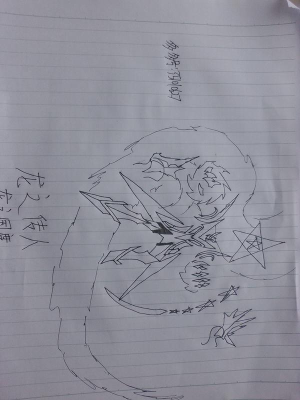 素描图片千顶鹤