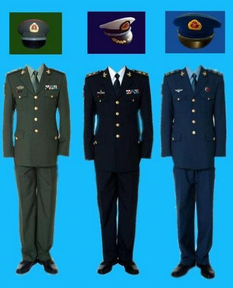 海陆空服装图片