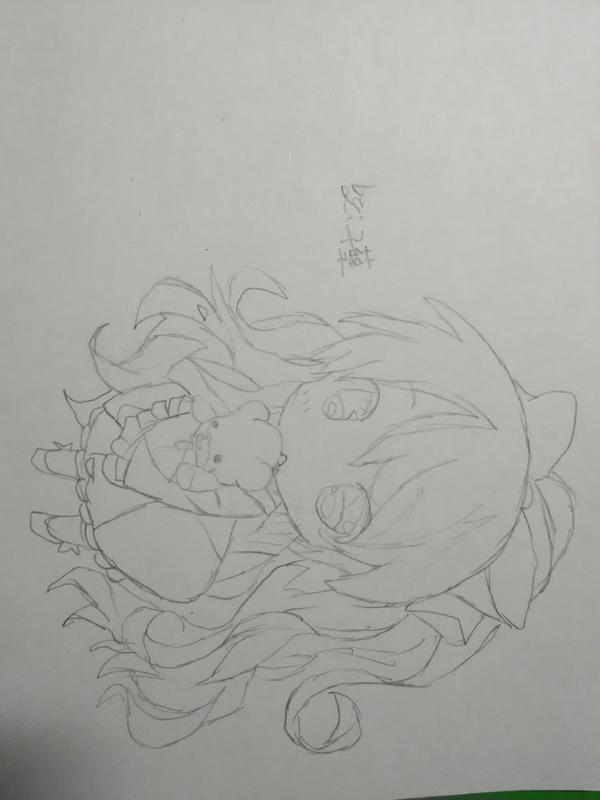 【繁华褪尽】二次元涂色教程 .【羽毛】扩列and画楼 .